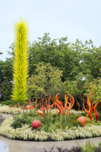 Chihuly glass sculpture garden