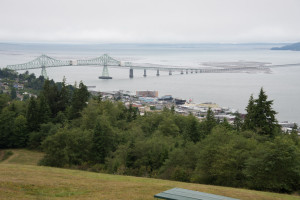 View of Astoria-Megler Bridge