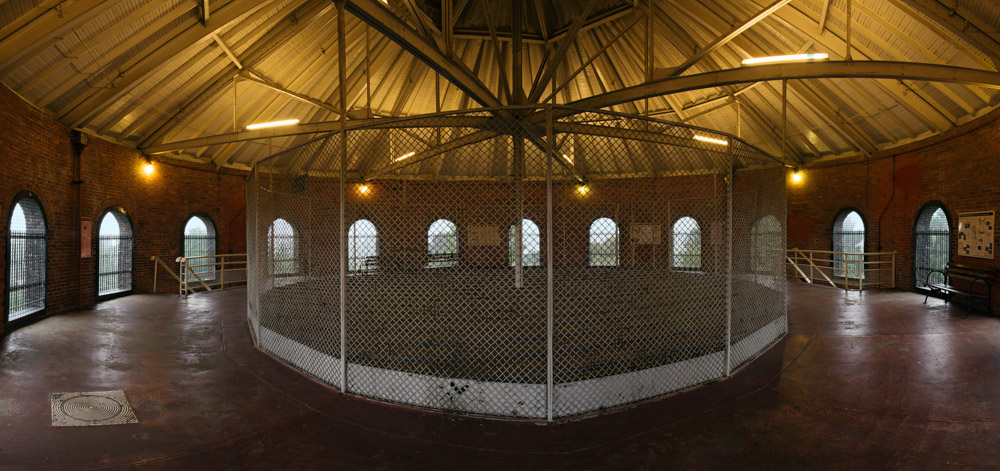 Water tower panorama